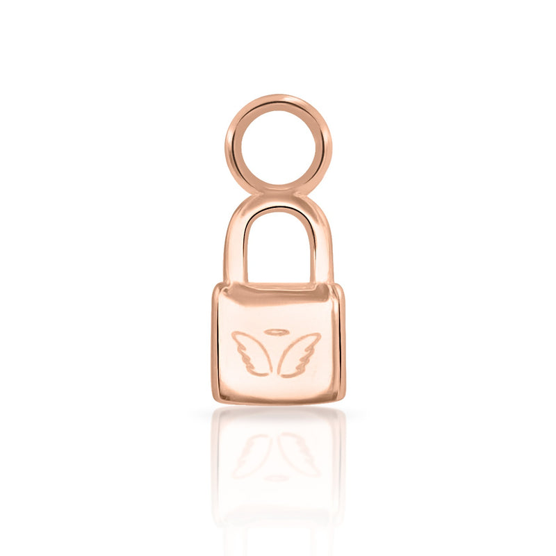 Angel Lock Charm