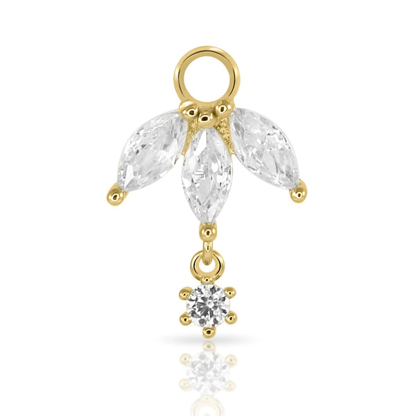 ❝ROYAL❞ MARQUISE DROP CHARM