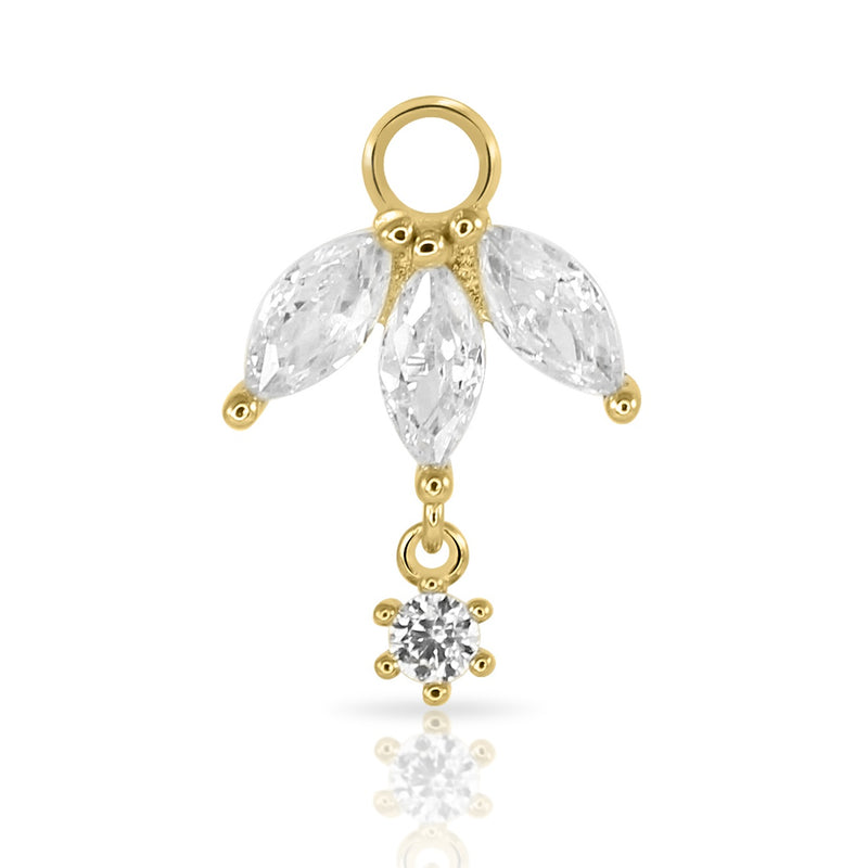 Marquise Drop Charm