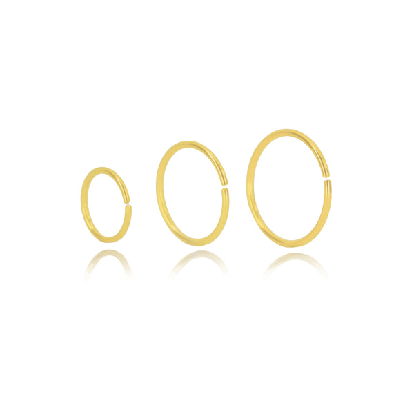 Ultra Fine Seamless Hoops (pair)