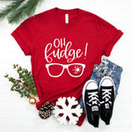 Oh Fudge! A Christmas Story Shirt | Funny Christmas Shirt