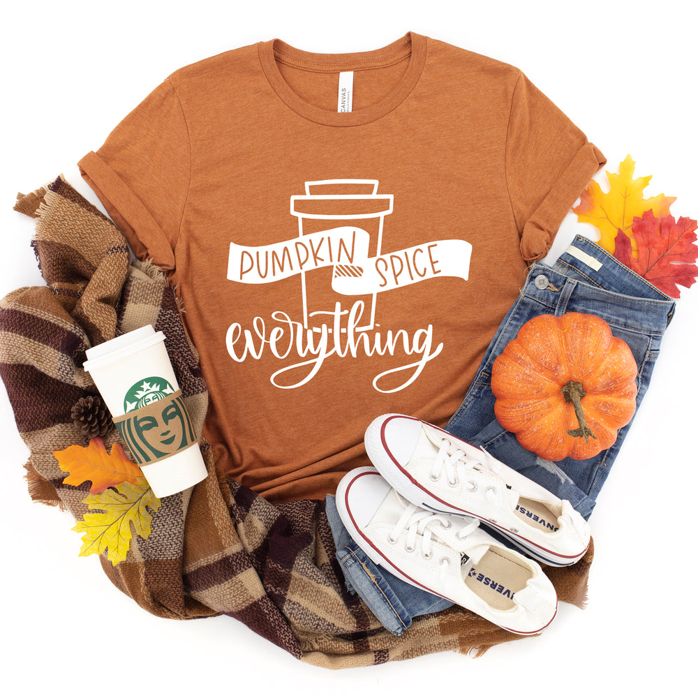 Pumpkin Spice Everything Shirt | Funny Thanksgiving Shirt