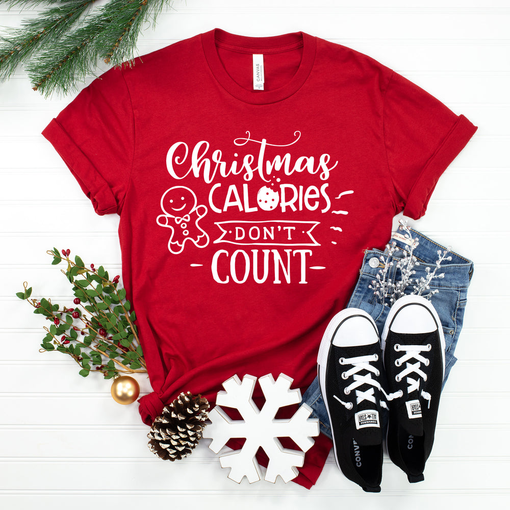 Christmas Calories Don't Count Shirt | Funny Christmas Shirt