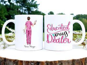 Personalized Registered Nurse Coffee Mug | Nurse Portrait