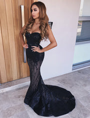 Black Prom Dresses Long