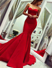 Red Prom Dress Long
