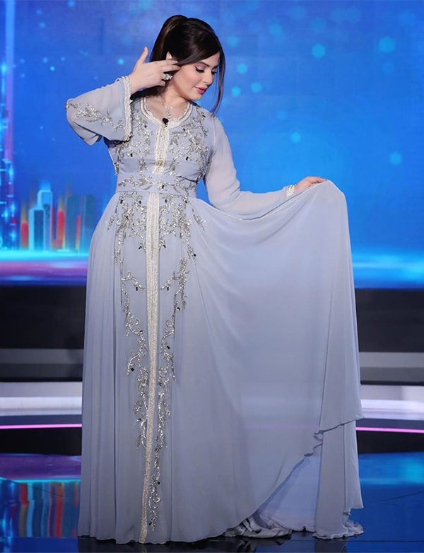 Chiffon DUbai Caftan Dress