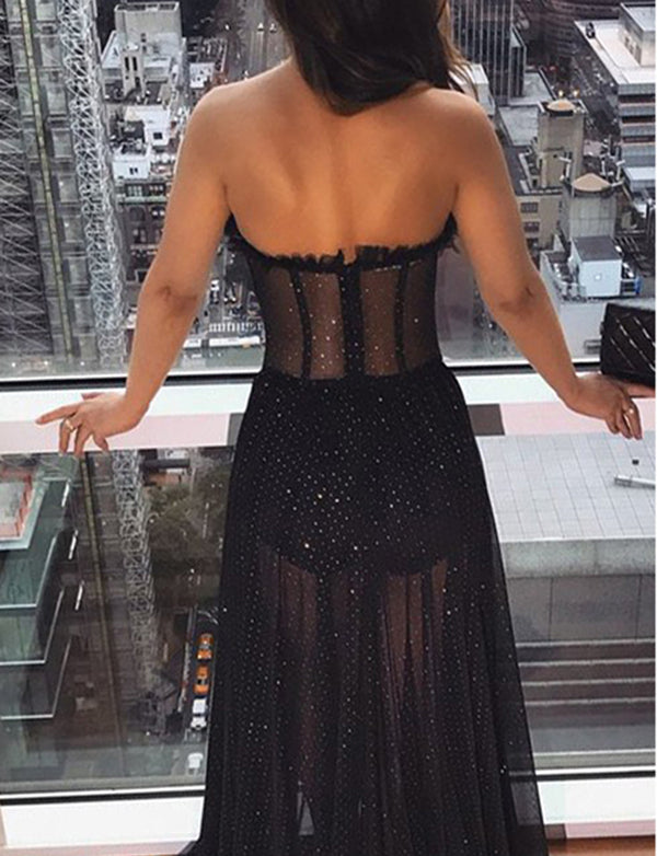 Black Evening Dresses Long
