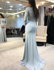 Long Prom Dresses with Sleeves