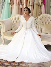 White Wedding Caftan Moroccan Kaftan