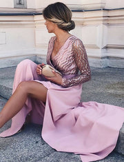 Pink Evening Dresses Long