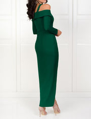 Green Evening Dresses Long