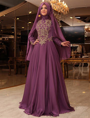 Beaded and Embroidery Dubai Caftan