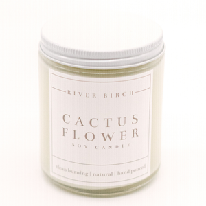 Cactus Flower - Clear Jar
