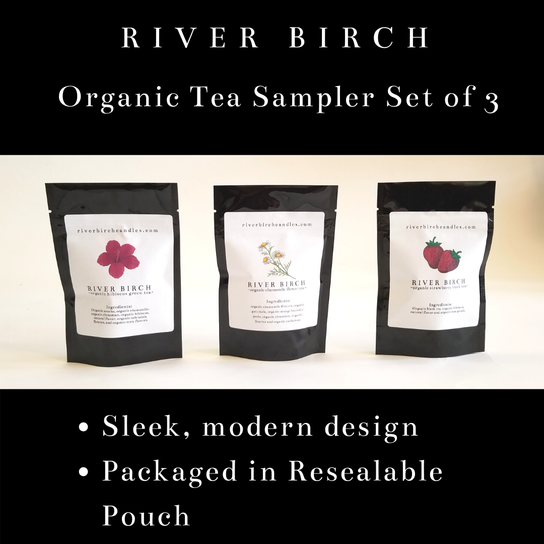 Organic Loose Leaf Sampler Gift Set of 3