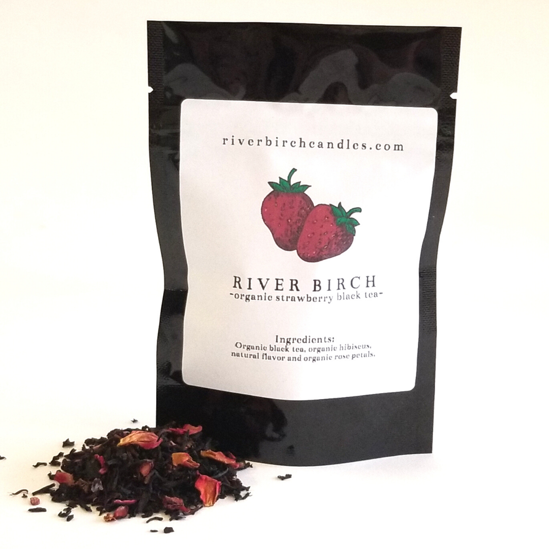 Organic Strawberry Black Tea