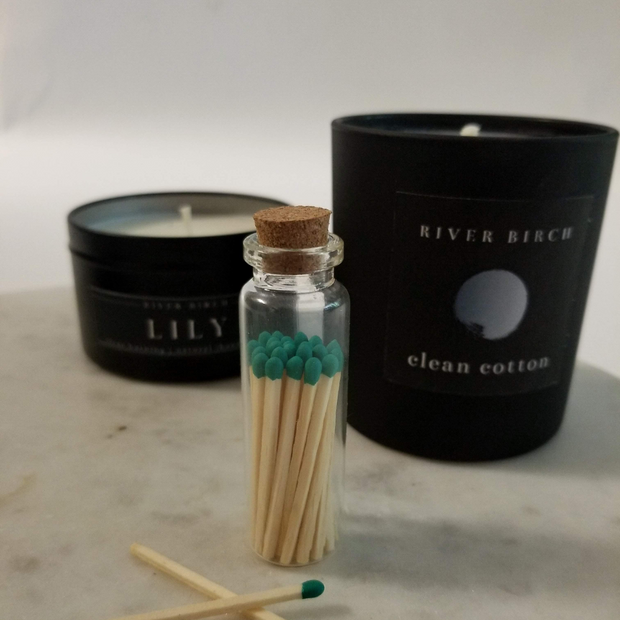 Teal Tip Matches 1