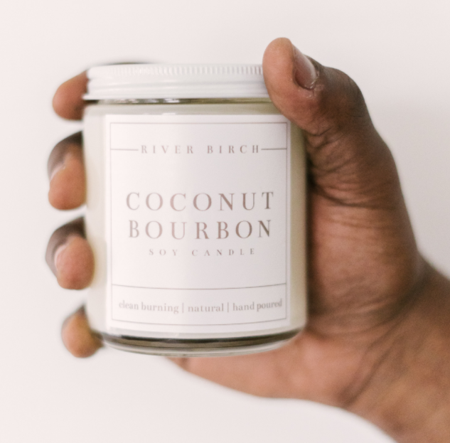 Coconut Bourbon - Clear Jar