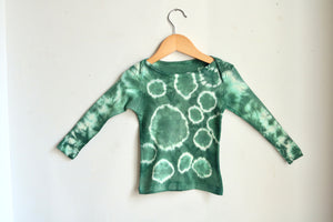 Jade Infant Lapover Tee
