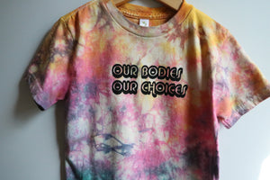 """OUR BODIES OUR CHOICES"" KIDS TSHIRT"