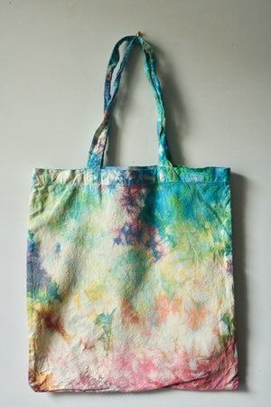 Pastel Splash Rainbow Tote Bag