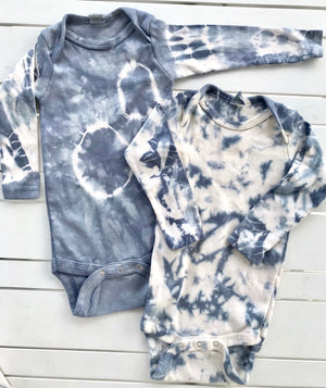 Long sleeve Indigo Infant Bodysuit