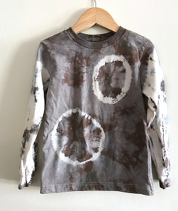 Smokey Quartz Organic Cotton Long Sleeve Shirt