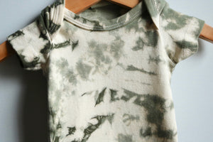 Moss Short Sleeve Infant Bodysuit