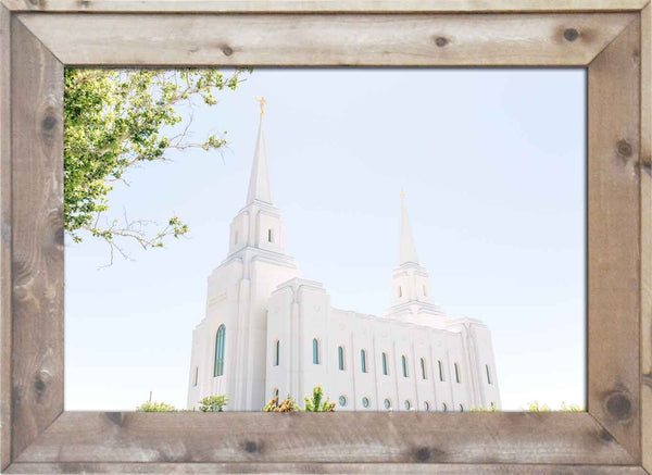 Brigham City Temple Side