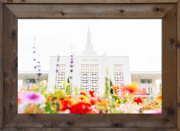 Idaho Falls Temple Color