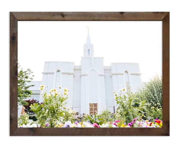 Bountiful Temple with Flowers