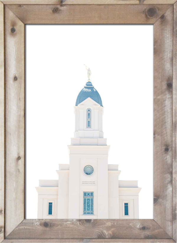 Cedar City Temple Top
