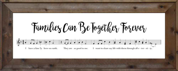Music - Families Can Be Together Forever