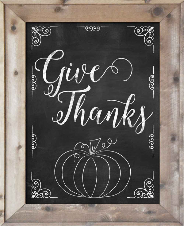 Give Thanks - Pumpkin