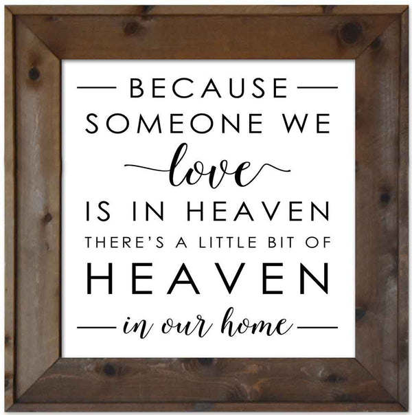 Heaven In Our Home - Memorial