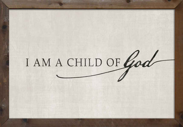 I am a child of God - Antique