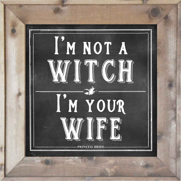 I'm Not a Witch, I'm Your Wife - Princess Bride