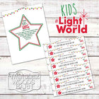 2019 Kids Light the World Paper Advent Chain