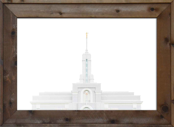 Mount Timpanogos Temple Top