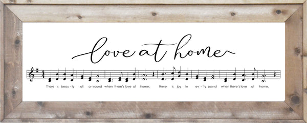 Music - Love at Home