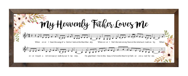 My Heavenly Father Loves Me - Music