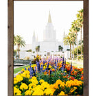 Oakland Temple with Flowers