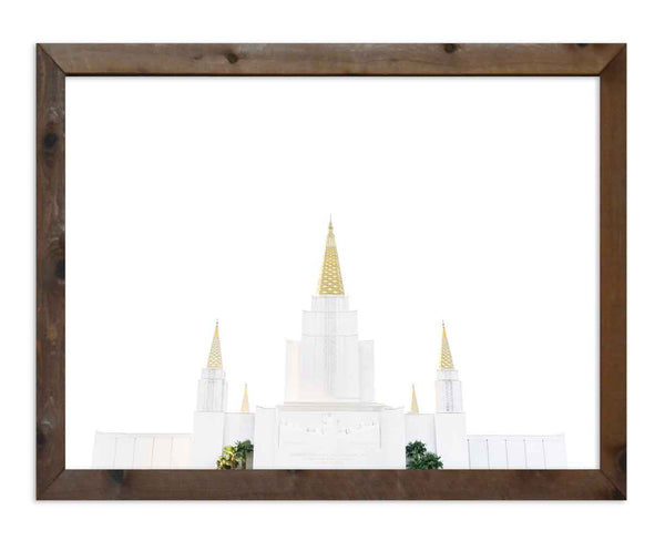 Oakland Temple Top