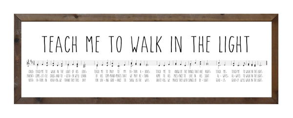 Teach Me to Walk in the Light - Music