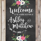 Wedding Chalkboard - Ashley