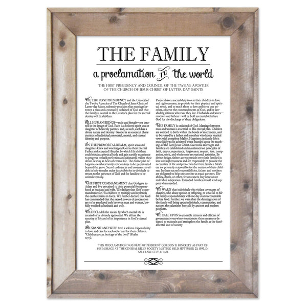 The Family Proclamation - LDS/Mormon Documents