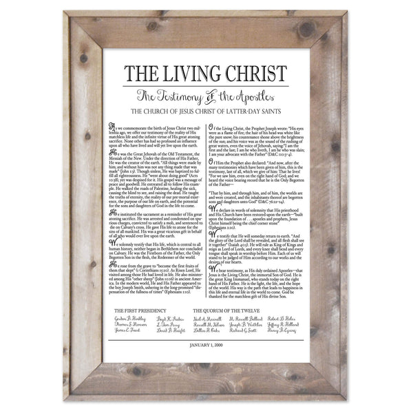 The Living Christ
