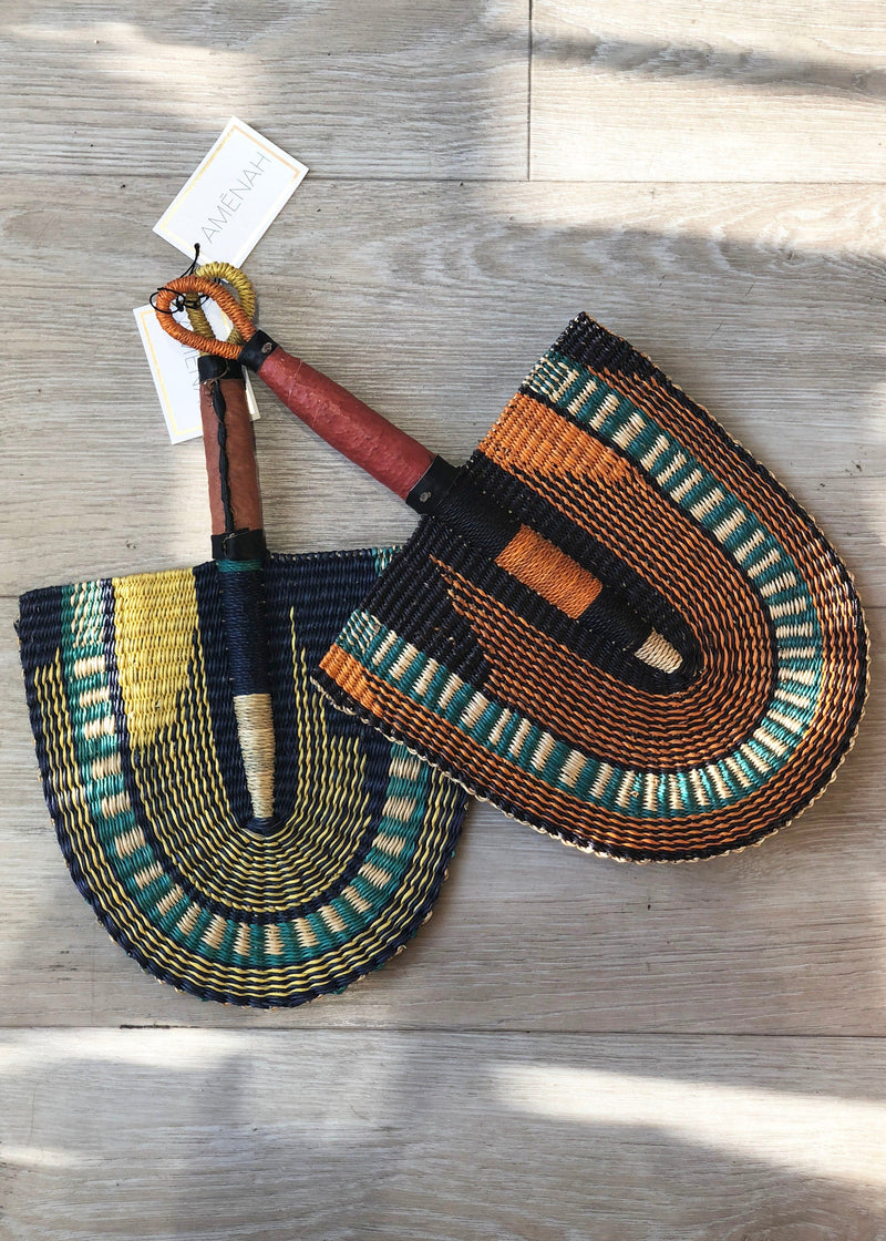 Hand Woven Decorative Fan - AMĒNAH