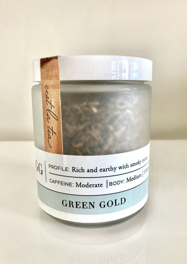 Teaspressa Loose Leaf Tea - Green Gold