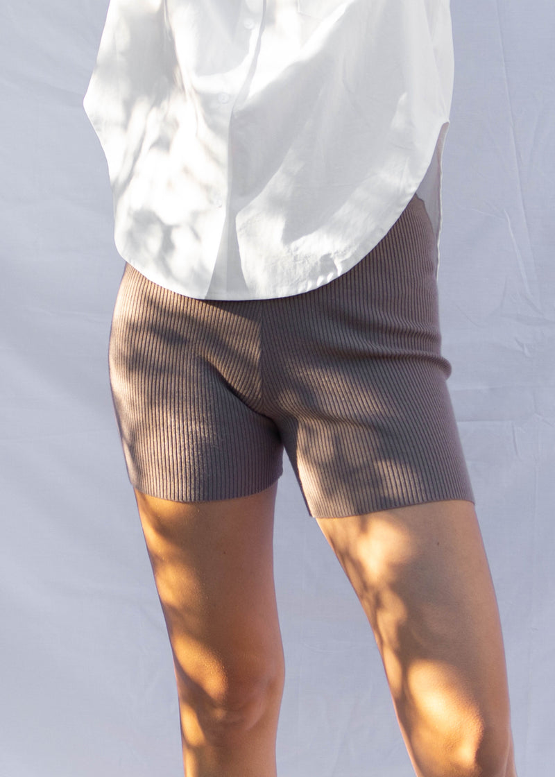 Camden Bike Short - Taupe
